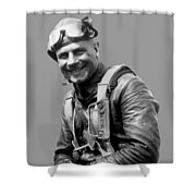 Jimmy Doolittle Shower Curtain by War Is Hell Store