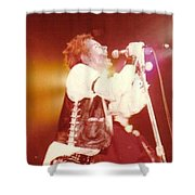 John Rotten-1978 In San Francisco   Shower Curtain by Dawn Wirth