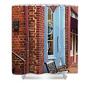 Jonesborough Tennessee Main Street Shower Curtain by Frank Romeo