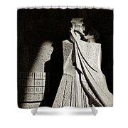 Judas Treason Shower Curtain by Dave Bowman