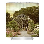June Bloom Shower Curtain by Jessica Jenney