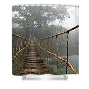 Jungle Journey 2 Shower Curtain by Skip Nall