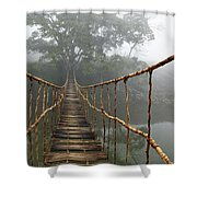 Jungle Journey 2 Shower Curtain by Skip Nall