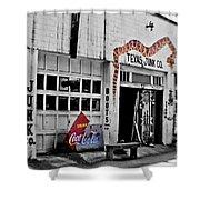 Junk Company Shower Curtain by Scott Pellegrin