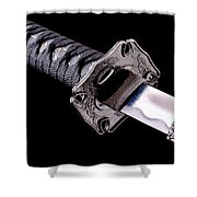 Katana Shower Curtain by Gert Lavsen
