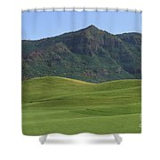 Kauai Marriott Golf Cours Shower Curtain by William Waterfall - Printscapes