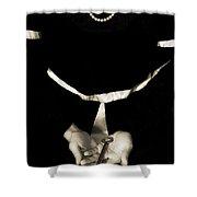 key Shower Curtain by Joana Kruse