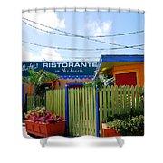 Key West Colors Shower Curtain by Susanne Van Hulst