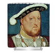King Henry VIII Shower Curtain by Hans Holbein the Younger