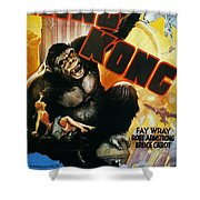 KING KONG POSTER, 1933 Shower Curtain by Granger