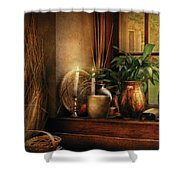 Kitchen - One fine evening Shower Curtain by Mike Savad