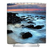 Koloa Dawn Shower Curtain by Mike  Dawson