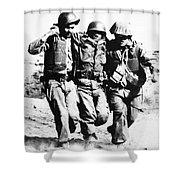 Korean War: Pork Chop Hill Shower Curtain by Granger