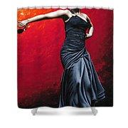 La Nobleza Del Flamenco Shower Curtain by Richard Young