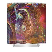 Lady Liberty Shower Curtain by John Robert Beck