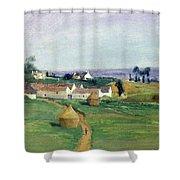 Landscape Shower Curtain by Victor Vignon