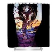 Lauren Shower Curtain by Arla Patch