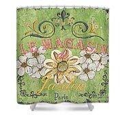 Le Magasin De Jardin Shower Curtain by Debbie DeWitt