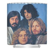 Led Zeppelin Shower Curtain by Donna Wilson