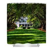 Legare Waring House Charleston Sc Shower Curtain by Susanne Van Hulst