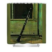Licorice Stick Shower Curtain by Joe Jake Pratt