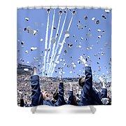 Lieutenants Commemorate Shower Curtain by Stocktrek Images