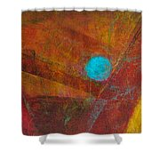 Life Force Shower Curtain by Mary Sullivan