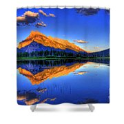 Life's Reflections Shower Curtain by Scott Mahon