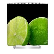 Limes Shower Curtain by Cheryl Young