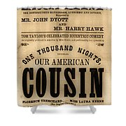 Lincoln Assassination Shower Curtain by Andrew Fare