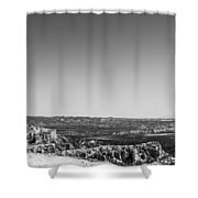 Lone Tree Shower Curtain by Chad Dutson