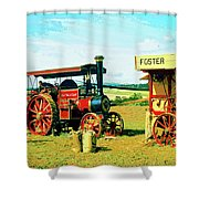 Lord Fisher Shower Curtain by Dominic Piperata