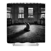 Losing My Religion Shower Curtain by Evelina Kremsdorf