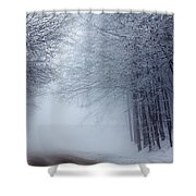 Lost Way Shower Curtain by Evgeni Dinev