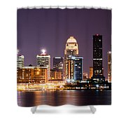 Louisville 1 Shower Curtain by Amber Flowers