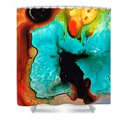 Love And Approval Shower Curtain by Sharon Cummings