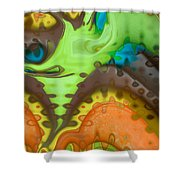 Lucid Dreaming Shower Curtain by Linda Sannuti