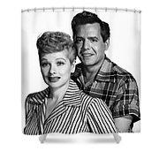 Lucille Ball (1911-1989) Shower Curtain by Granger