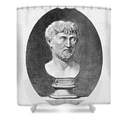 Lucretius (96 B.c.?-55 B.c.) Shower Curtain by Granger