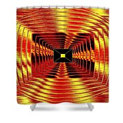 Luminous Energy 12 Shower Curtain by Will Borden