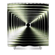 Luminous Energy 15 Shower Curtain by Will Borden