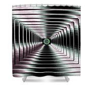 Luminous Energy 4 Shower Curtain by Will Borden