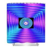 Luminous Energy 9 Shower Curtain by Will Borden