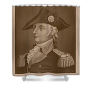 Mad Anthony Wayne Shower Curtain by War Is Hell Store