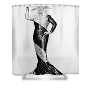 Mae West (1892-1980) Shower Curtain by Granger