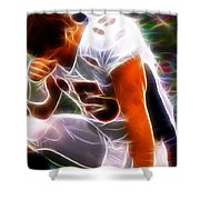 Magical Tebowing Shower Curtain by Paul Van Scott