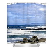 Magnificent Sea Shower Curtain by Will Borden