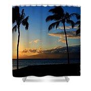 Mai Ka Aina Mai Ke Kai Kaanapali Maui Hawaii Shower Curtain by Sharon Mau