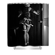 Maid Service Shower Curtain by Alexander Butler