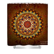 Mandala Ararat Shower Curtain by Bedros Awak